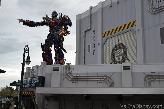 Transformers 3D, um dos hits da Universal Studios