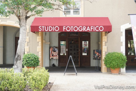 Foto do Studio Fotografico que fica no local