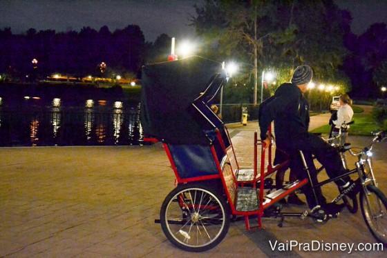 Foto das bicicletas que podem ser usadas para passear