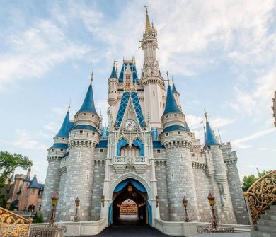 Um dos parques que todo mundo quer visitar: Magic Kingdom, da Disney! :)