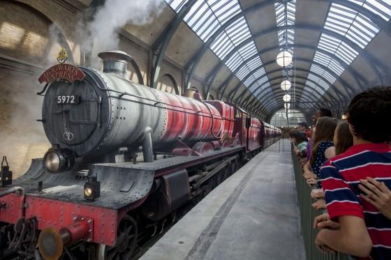 O famoso Expresso de Hogwarts!