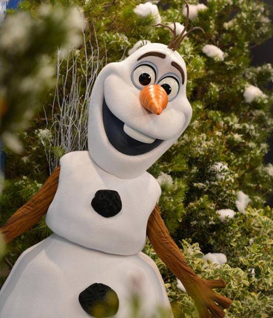 Todo mundo quer uma foto com o Olaf, né? :)
