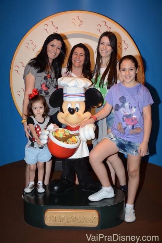 Café no Chef Mickey's para começar bem o dia!
