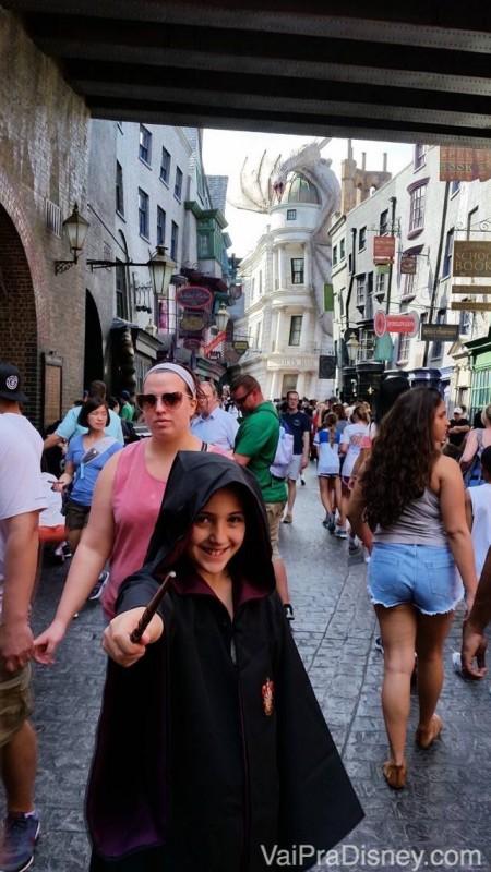O sonho que se torna realidade para todo mundo que ama Harry Potter! :)