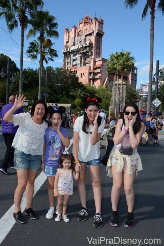 Dia de Hollywood Studios.