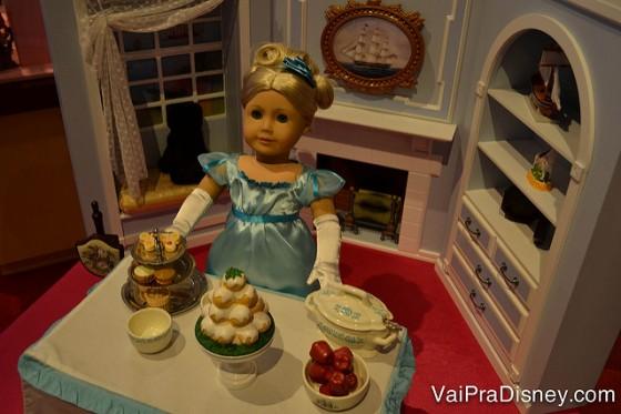 A American Gril é fora do comum. Tem bonecas para todos os estilos. É mais que uma loja, é uma experiência.