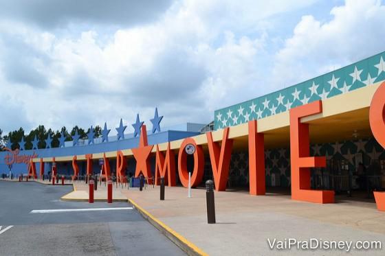 Placa do All Star Movies. Os outros dois All Star (Sports e Movies) também tem uma fachada como essa.