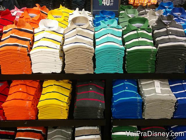 Roupas em Outlet de Orlando: nem tudo vale a pena ser comprado nos EUA