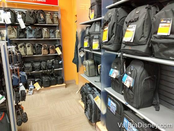 Bolsas e mochilas para todos os tipos de câmera na Harmon Photo