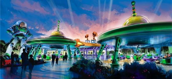 Ano que vem tem Toy Story Land chegando! :D