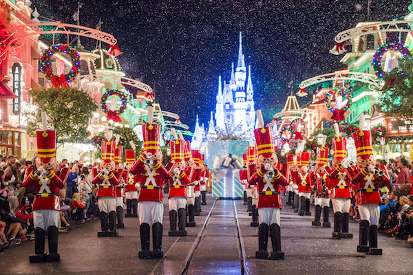 Para mim, a festa de Natal da Disney é o evento mais lindo de todos!