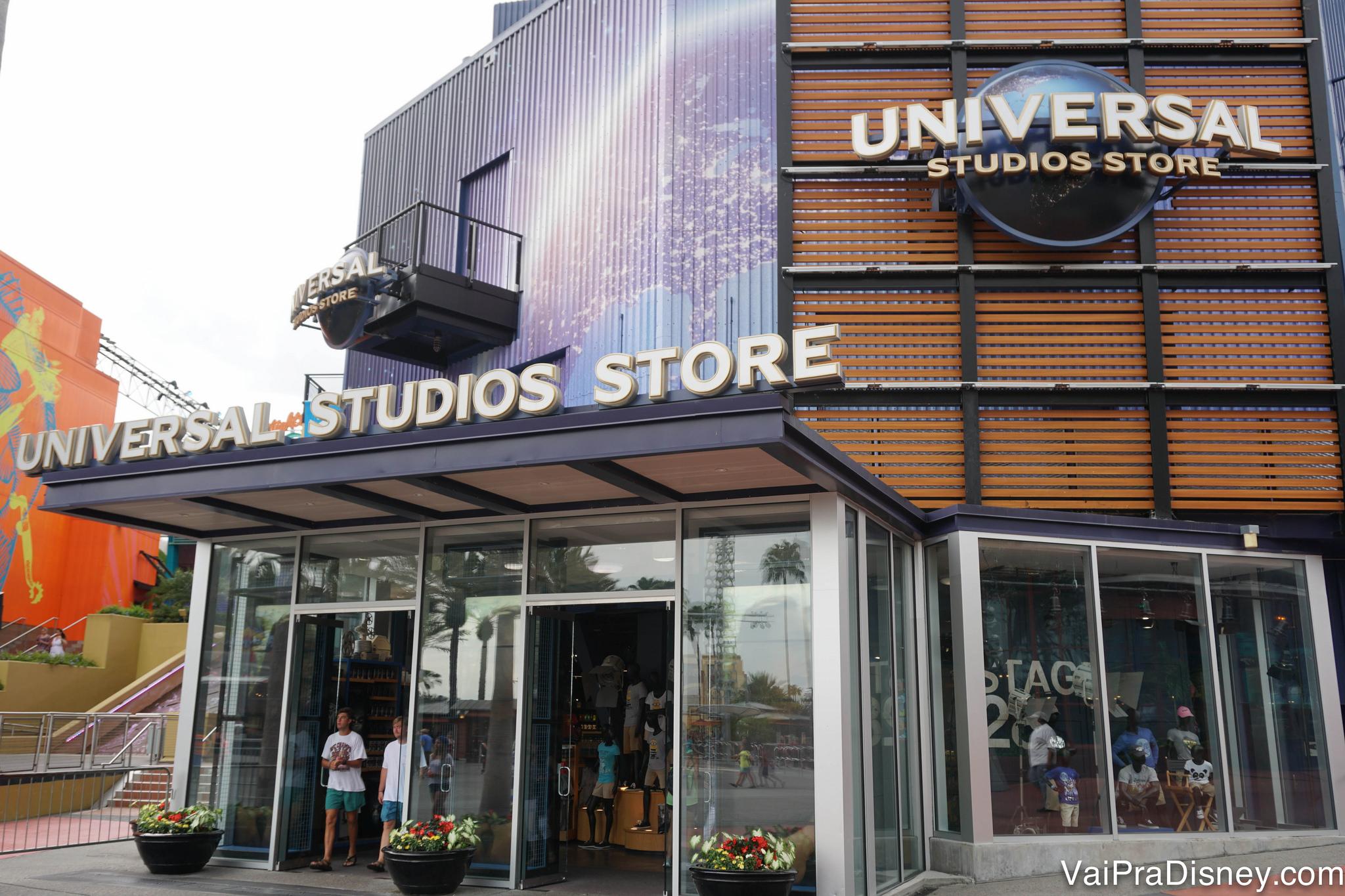 Foto da loja da Universal no CityWalk, a Universal Studios Store