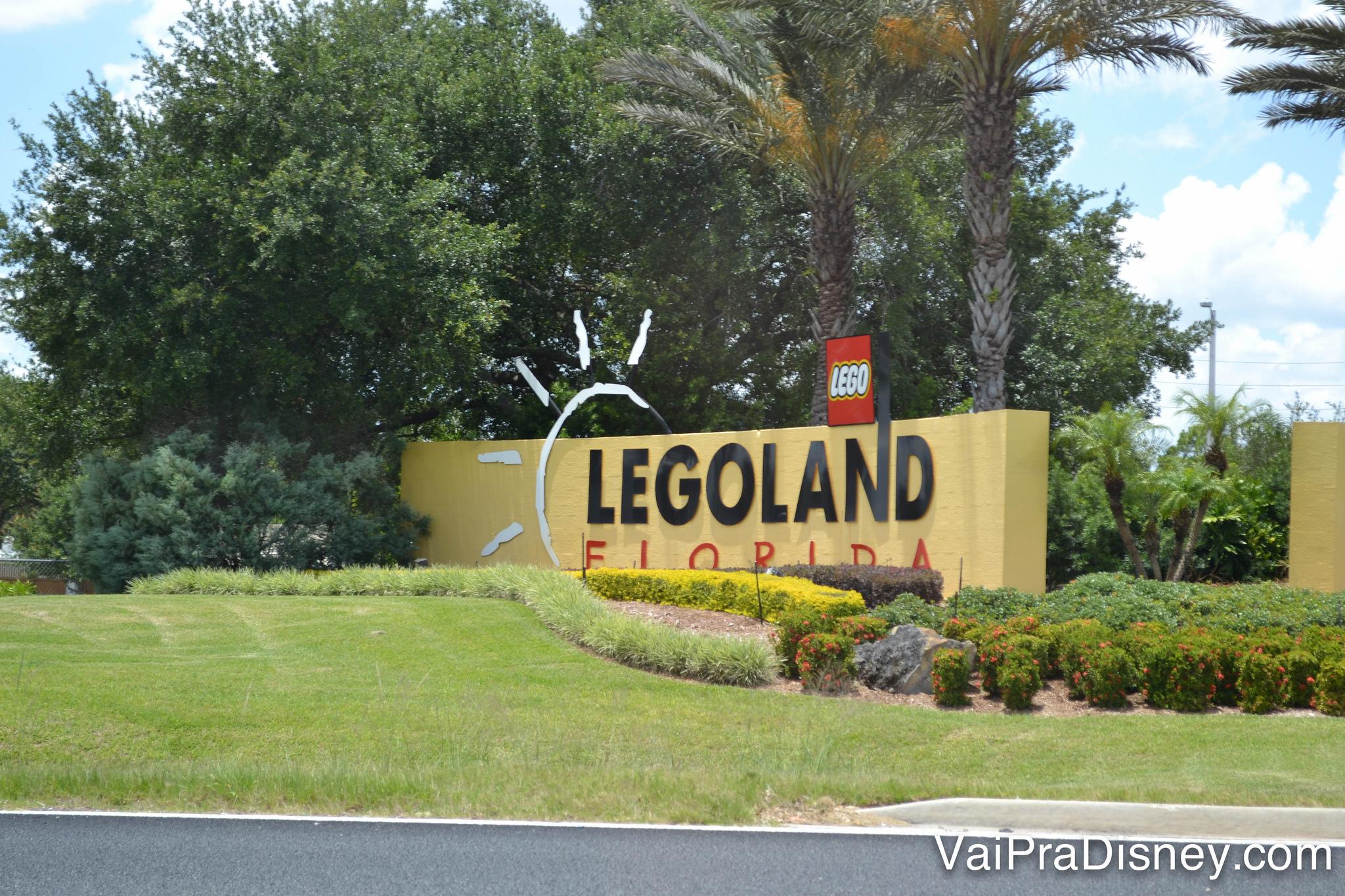 Chegando na Legoland!