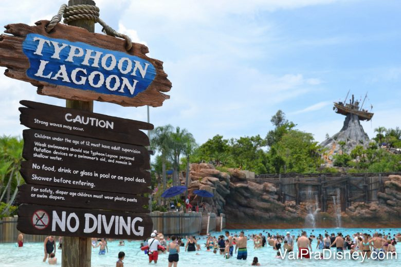 Para os parques aquáticos é necessário o ingresso Hopper Plus.