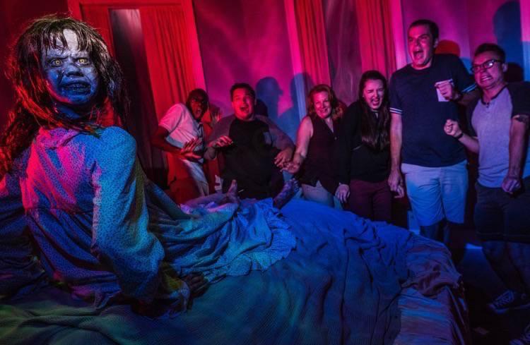 Labirinto do Exorcista na Halloween Horror Nights da Universal