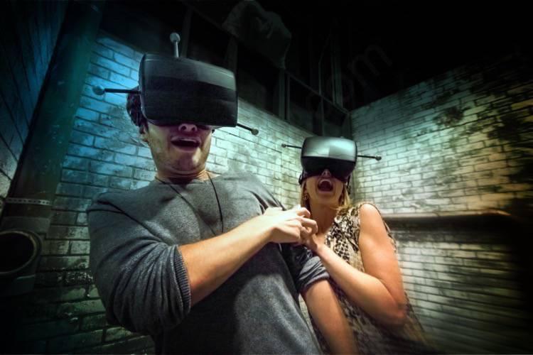 Nova atração paga a parte da Halloween Horror Nights de realidade virtual