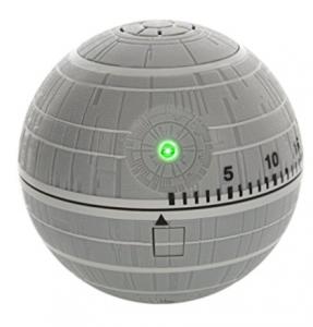 Lembranças da Disney - Timer de Star Wars em formato de Estrela da Morte
