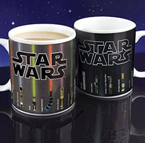 Lembranças da Disney - Canecas de Star Wars que mudam de cor com o calor