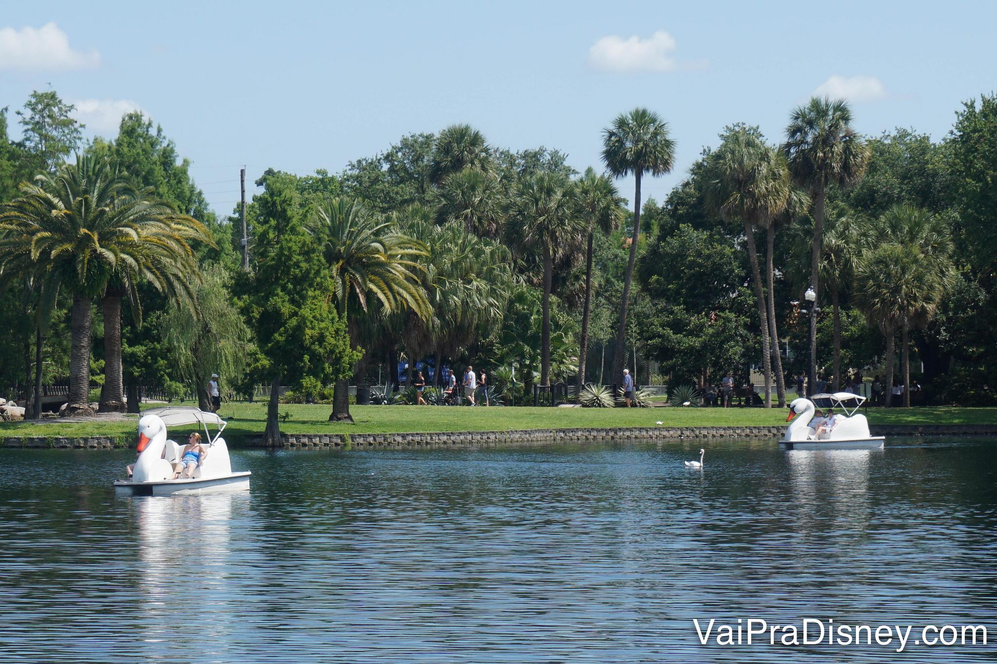 Lake Eola, o ibirapuera de Orlando! :P
