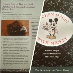 Lembranças da Disney - Livro de receitas da Disney