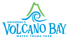 Imagem do logo do Volcano Bay