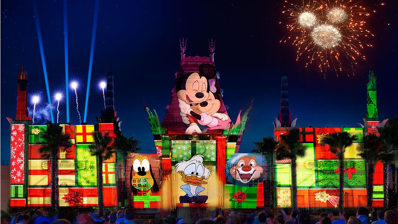 Foto da comemoração de Natal do Jingle Bells, Jingle BAM! no Hollywood Studios