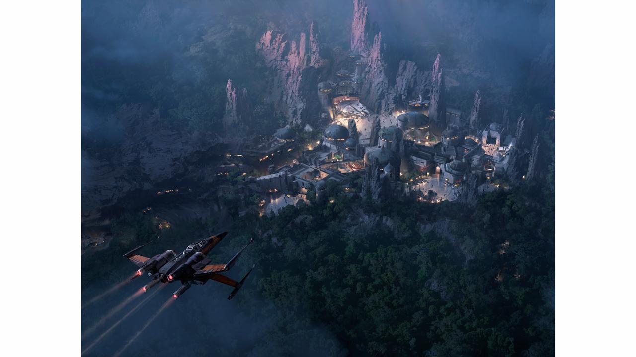 Um pouco do projeto da nova land do Hollywood Studios.