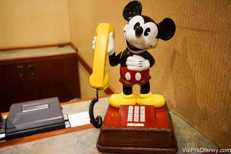 Imagina acordar com o Mickey?