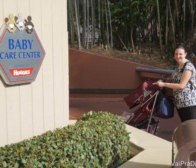O Baby Care Center do Epcot é ótimo!