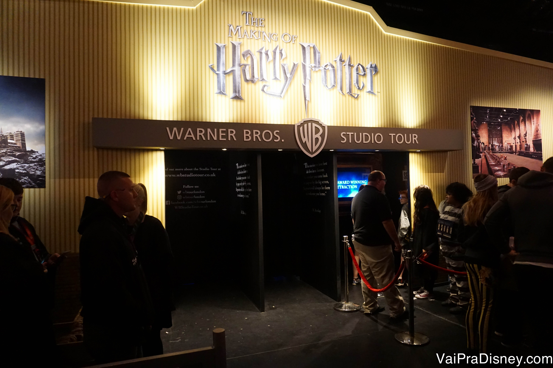 Exposição dos itens dos filmes em exibição no A Celebration of Harry Potter