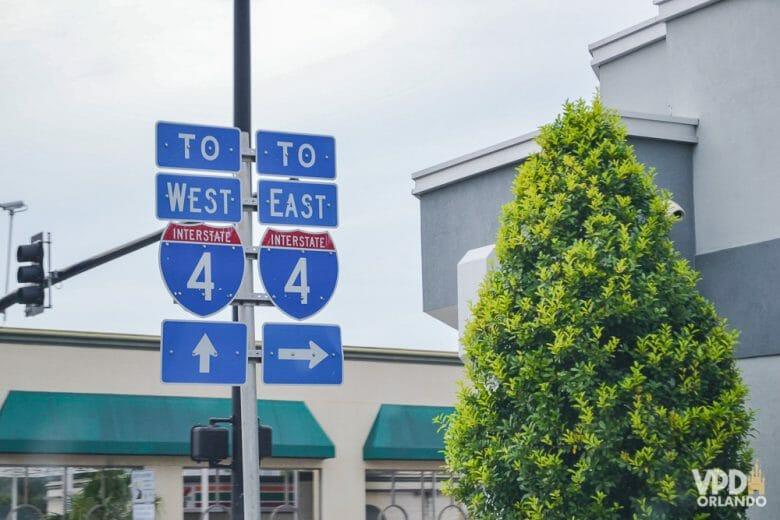 Vai ficar só em Orlando e não quer pensar em pedágio? A I-4 não tem pedágio entre no trecho entre Tampa e Winter Park e pode ser uma ótima opção.