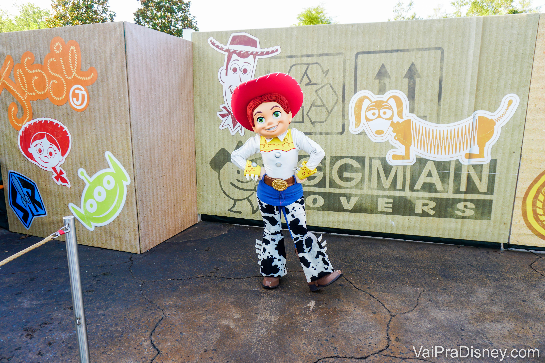 A Jessie na Toy Story Land