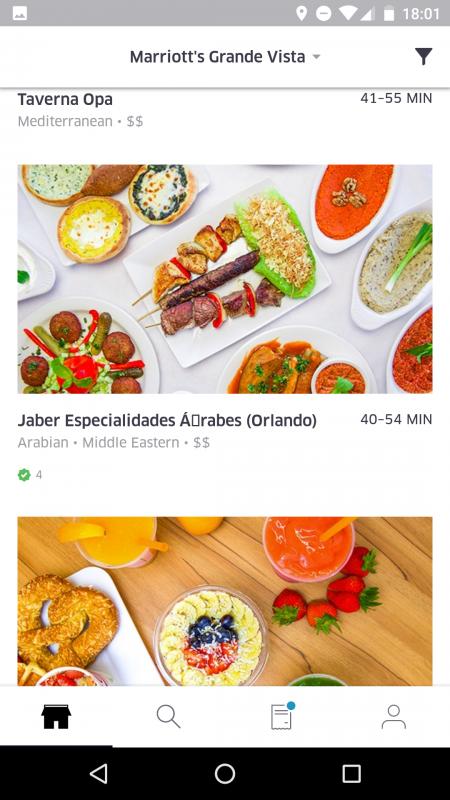 Gente, tem até Jaber aqui em Orlando! Maior especialidade árabe-brasileira! :D