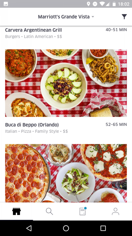 Outra opção ótima para famílias grandes é o Buca di Beppo. Não é comida brasileira, mas italiana e todo mundo adora, né? Os pratos são HIPER fartos.
