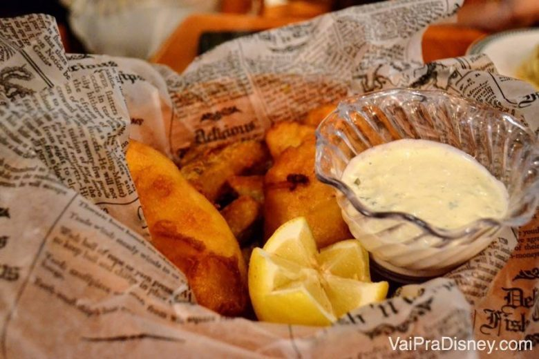 Tradicional Fish and Chips do Finnegan's