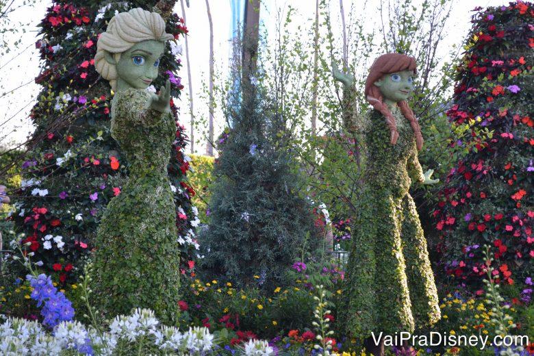 Óbvio que elas não ficariam de fora do Flower & Garden Festival!