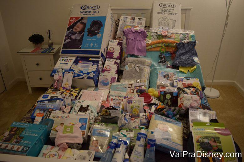 Organizar as compras nas malas é bem mais difícil do que comprar! hehehe Leve familiares e lote a mala de todos eles! :P