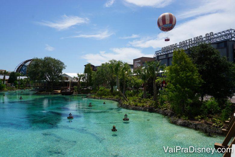 Disney Springs é um centrinho delicioso da Disney que ninguém precisa pagar nada para visitar