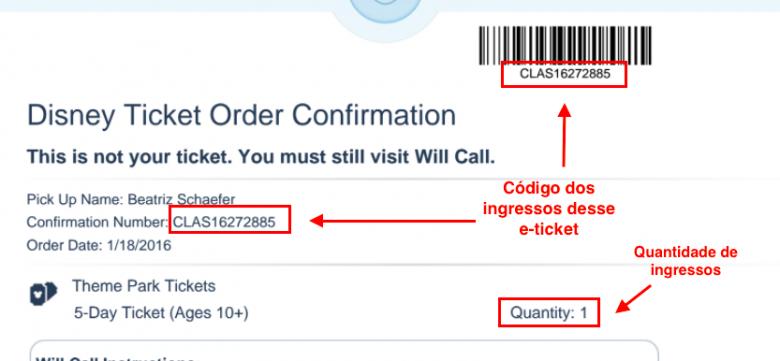 Exemplo de um e-ticket antigo da Bia.