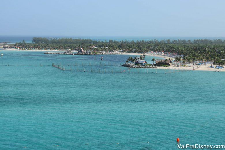 Ahhhh Castaway Cay! Sempre linda!