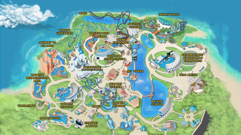 b393d4edb Roteiro - Sea World - Vai pra Disney