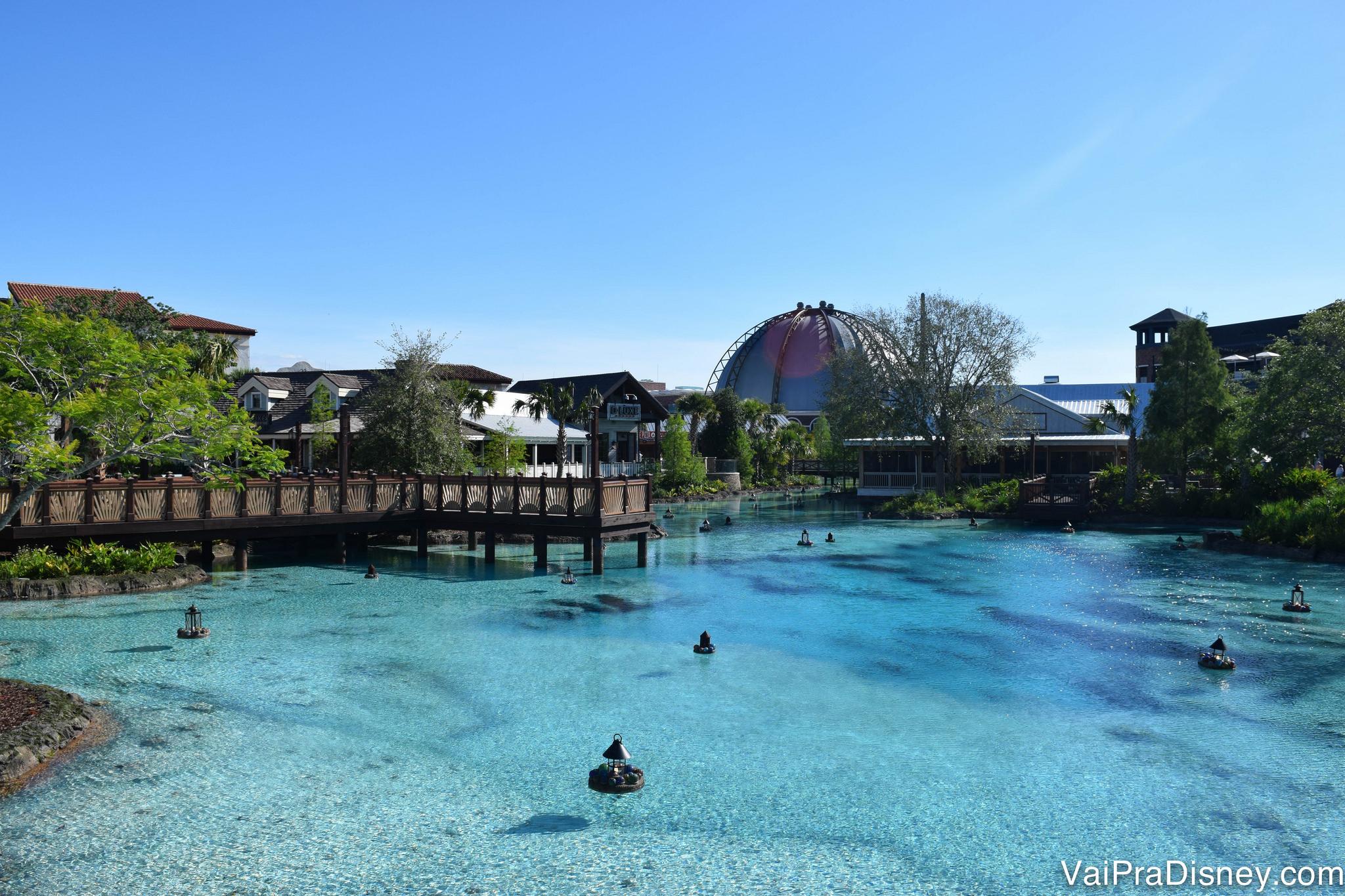 O Disney Springs está cada dia mais bonito e mais completo.