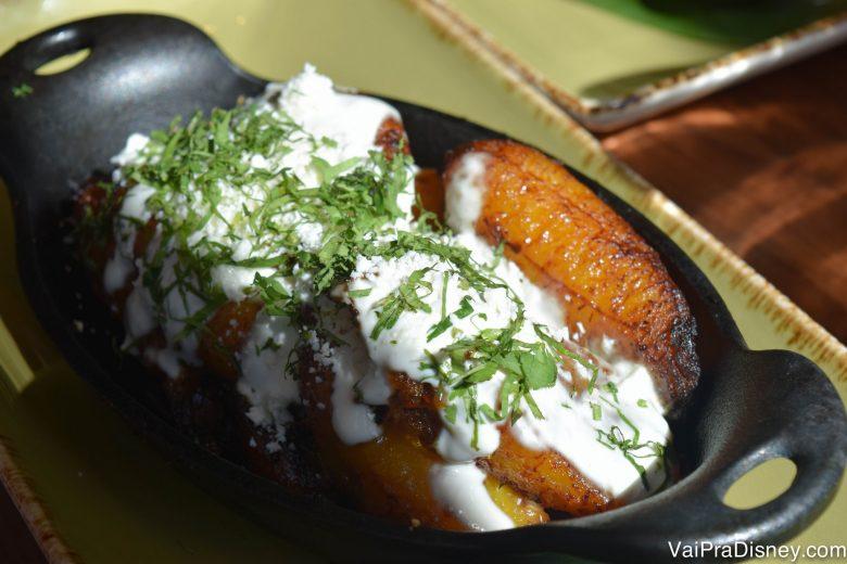 Banana com queijo é a nova goiabada com queijo! Amor eterno por essa combinação em todos os formatos! haha :P