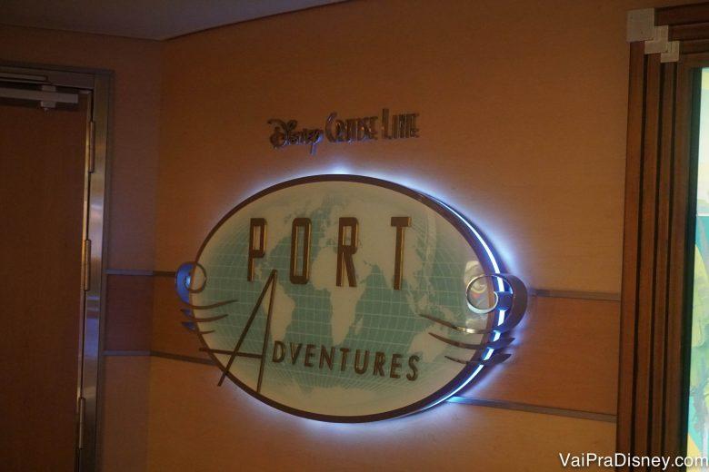 Você pode marcar excursões da Disney nos portos até mesmo no navio, mas em geral a gente gosta de marcar tudo antes, com calma e pesquisando bem.