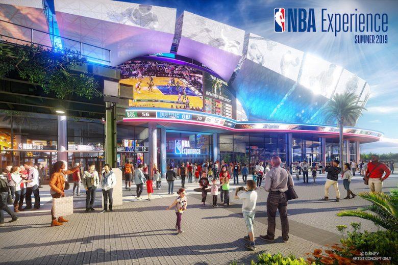 Projeto da NBA Experience.