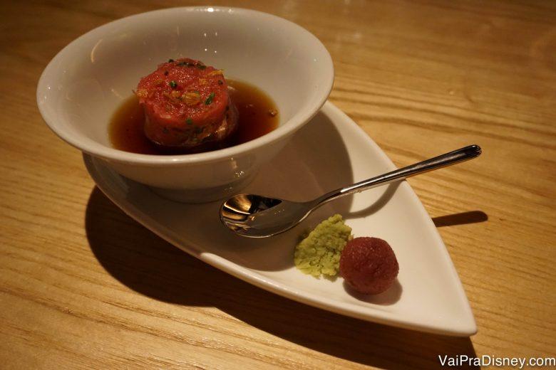 Foto do tartar de Toro do Morimoto