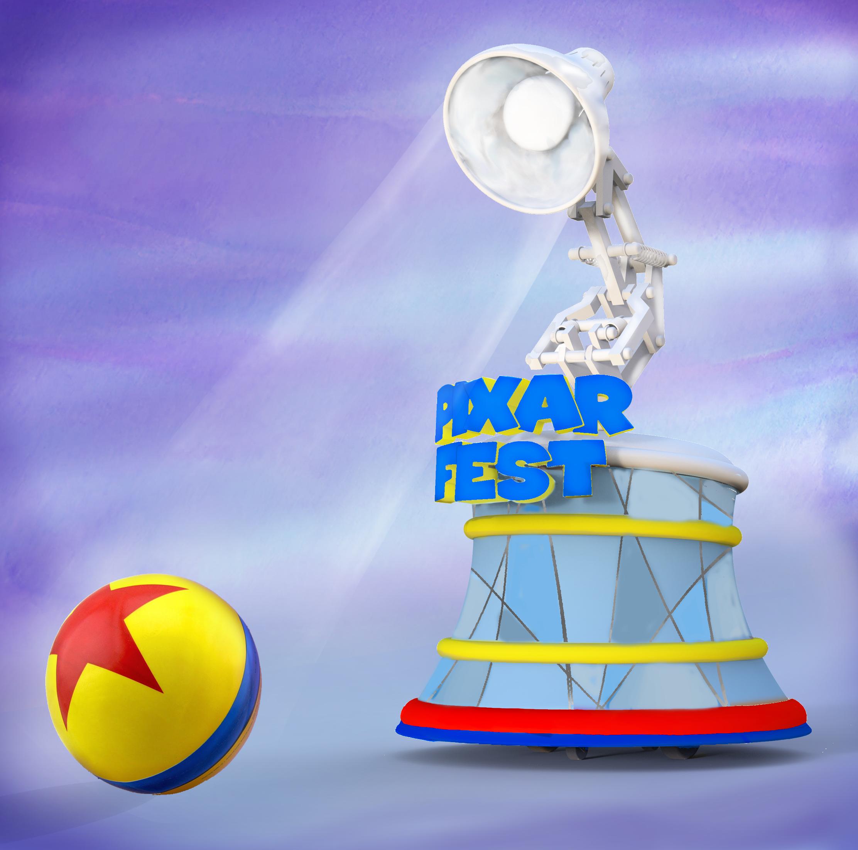 Como nos filmes, a Lâmpada da Pixar fará a abertura da parada.