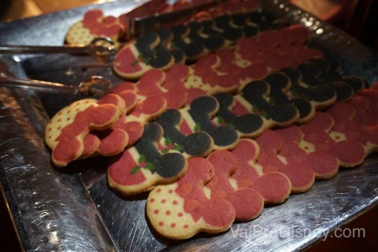 Doces natalinos em formato de Mickey e Minnie na Jingle Bell, Jingle BAM! Holiday Dessert Party
