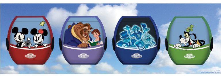 Carrinhos com personagens da Disney <3