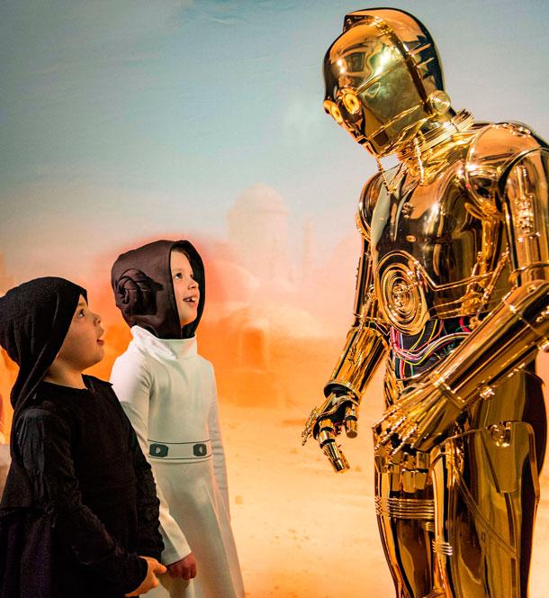 C-3PO: um dos personagens favoritos das crianças